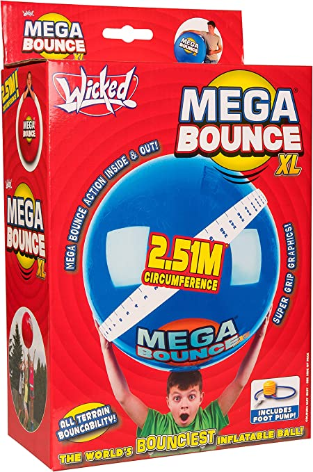 Amazon.com: Wicked Mega Bounce XL - Pelota hinchable gigante ...
