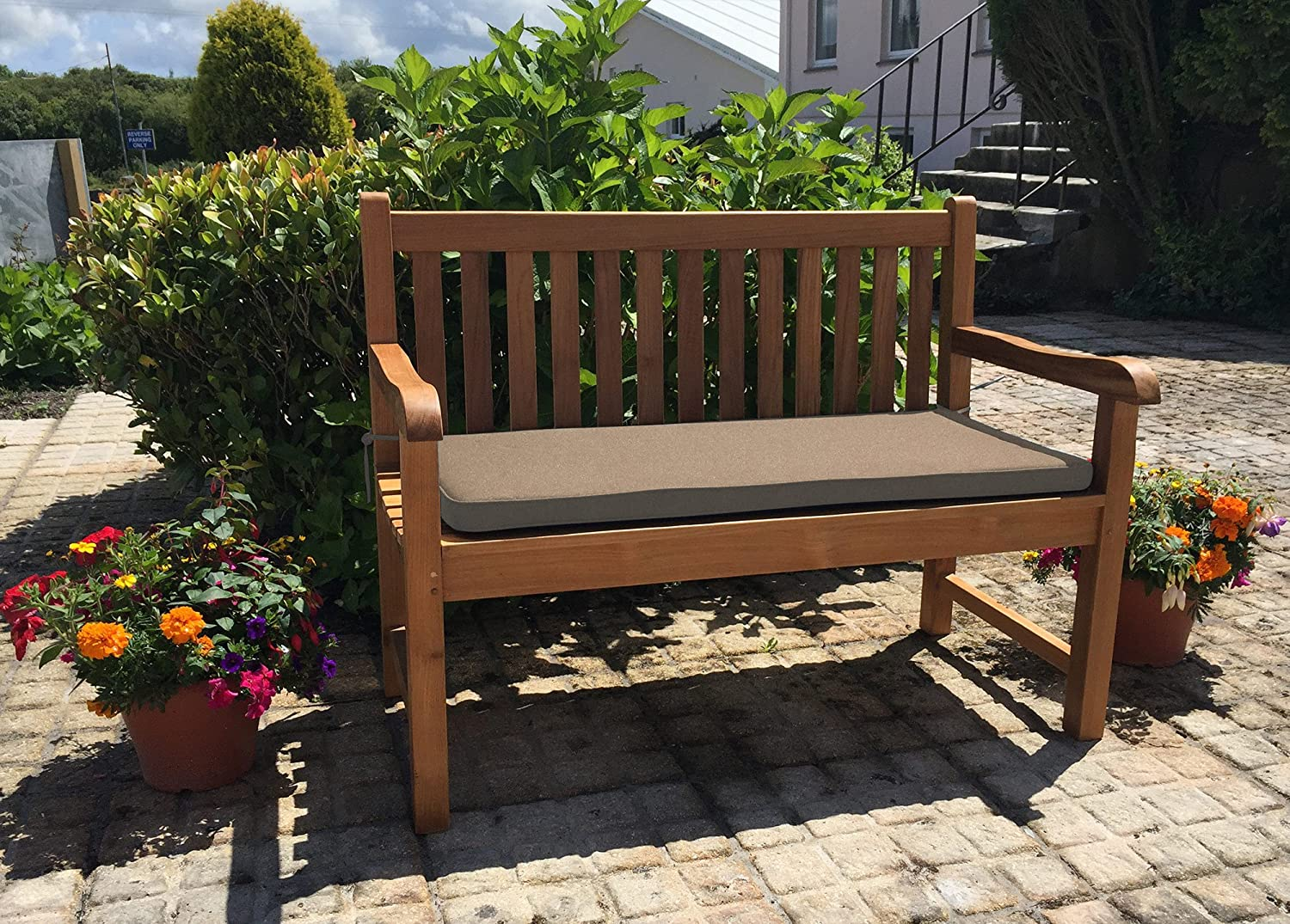 Cushion for Two Seater Garden Bench - (cushion only) (Forest Green) Inspiring Furniture LTD