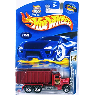 Hot Wheels Peterbilt 5/10 Work Crewsers 2003 #159: Toys & Games