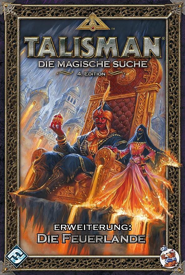 Heidelberger HE728 - Talisman - Tierras de Fuego, Juego de Mesa de extensión: Amazon.es: Juguetes y juegos