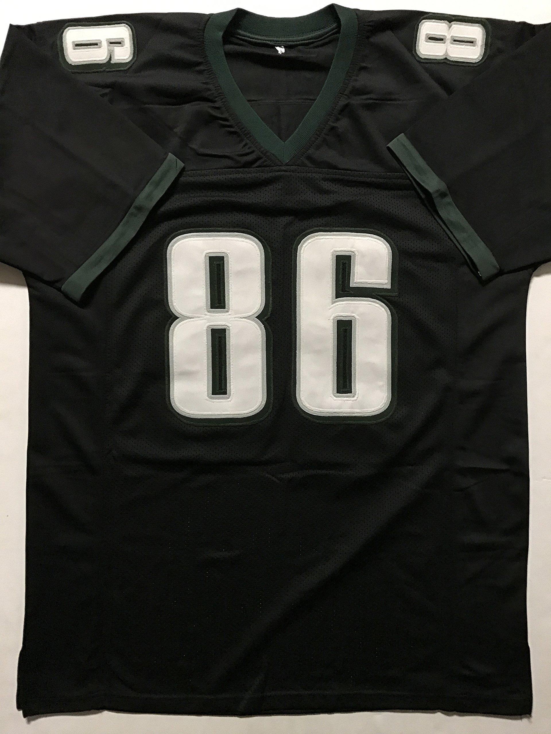 Autographed/Signed Zach Ertz Philadelphia Black Football Jersey JSA COA