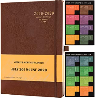Amazon.com : Planner 2019-2020 - Academic Weekly/Monthly ...