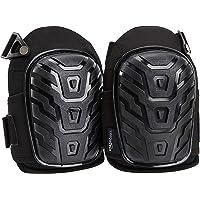 AmazonBasics Professional Gel Cushion Knee Pads - 1 Pair, Black