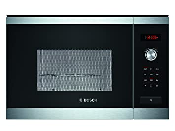Bosch HMT84G654 - Microondas con grill para montaje empotrado, 900 ...
