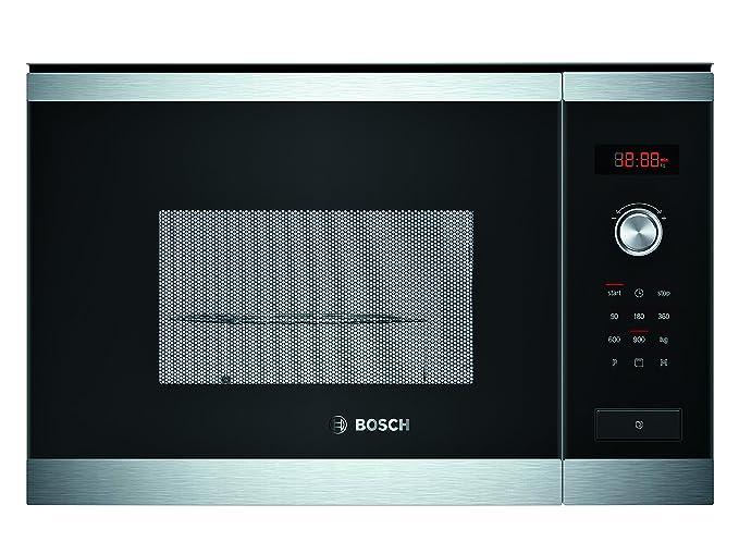 Bosch HMT84G654 Built-in 25L 900W Black,Stainless steel microwave ...