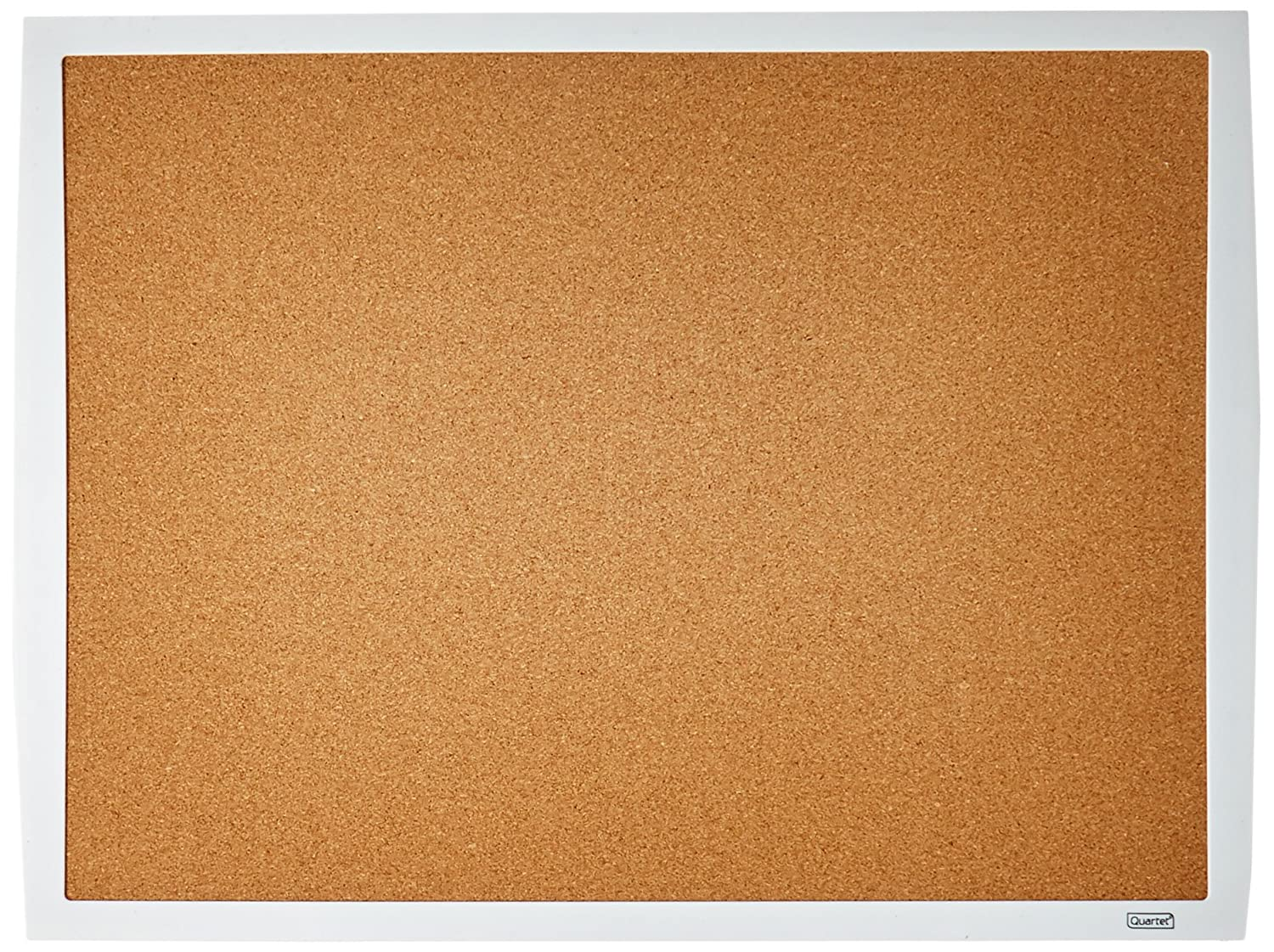 Quartet Cork Bulletin Board, 17x23, White Frame (33271-WT) 17x23 ACCO Brands