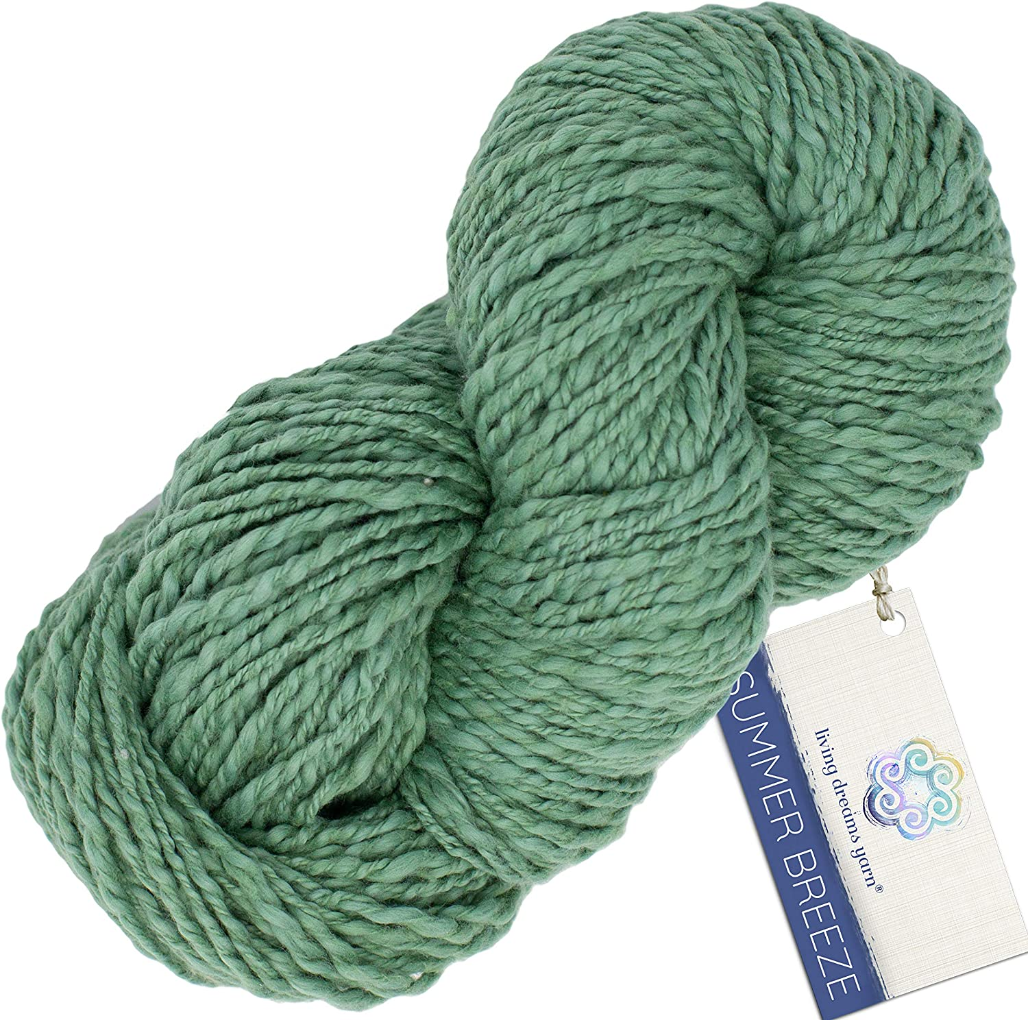 Living Dreams Yarn SUMMER BREEZE Cotton Pima 5 ☆ very popular Certified Organic Online limited product -
