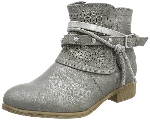 TOM Tailor 4896103, Botas para Mujer, Grau (Ice), 37 EU