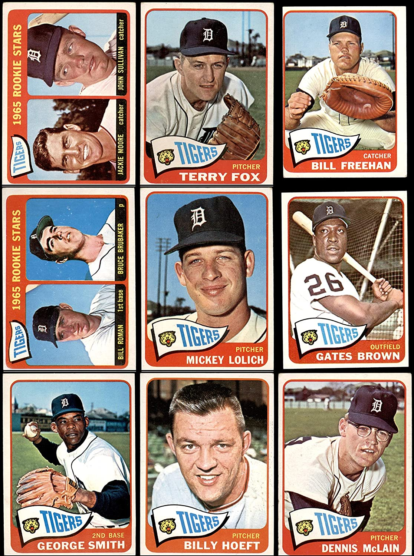 1965 Topps Detroit Tigers Near Team Set Detroit Tigers (Baseball Set) Dean's Cards 3 - VG Tigers 91Cg-TNIuNLSL1500_