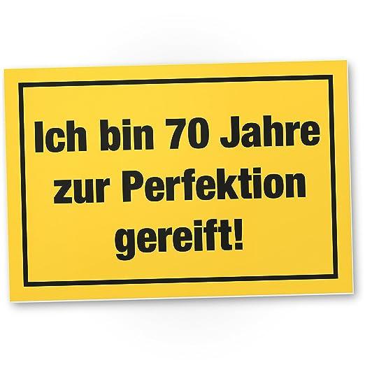 DankeDir!. Perfección 70 Años, plástico Cartel - 70 ...