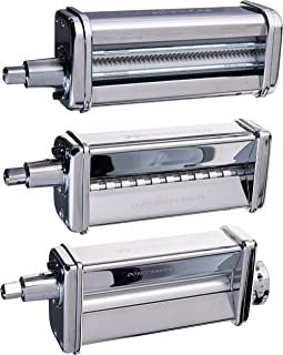 amazon com kitchenaid ksmpra 3 piece pasta roller cutter rh amazon com