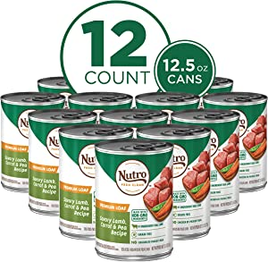 NUTRO Kitchen Classics Adult Wet Dog Food, Premium Loaf 12.5 Ounce Cans (Pack of 12)