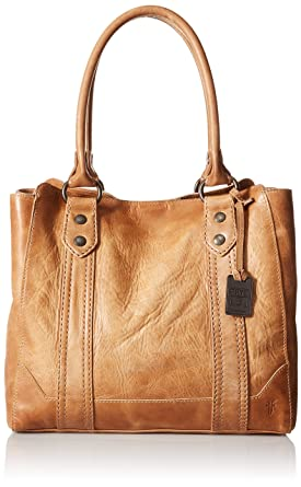 f972be4d4 Amazon.com: Frye Melissa Tote, Beige, One Size: Clothing