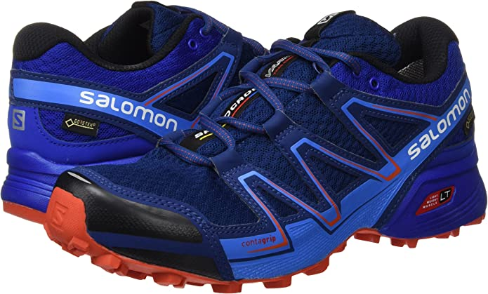 Salomon L39054800, Zapatillas de Trail Running para Hombre, Azul ...