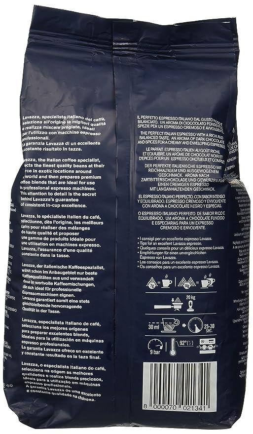 Lavazza Grand Espresso, Café en Grano, Pack de 6, 6 x 1000g: Amazon.es: Alimentación y bebidas