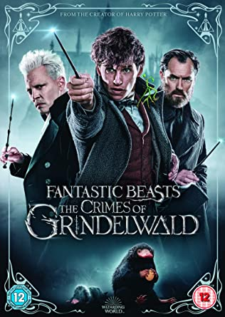 d90fe9c6676 Fantastic Beasts  The Crimes of Grindelwald DVD 2018  Amazon.co.uk ...