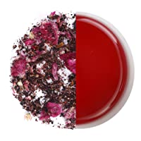 Tahiti- Berry Iced Tea, Caffeine Free, Tisane, Fruity infusion, Strawberries, Cockscombe flowers, Hibiscus Flowers, No added Sugar, No Artificial flavor, 25 pyramid teabags