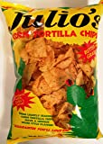 Julio's Seasoned Corn Tortilla Chips - 20 Oz (Pack of 2)
