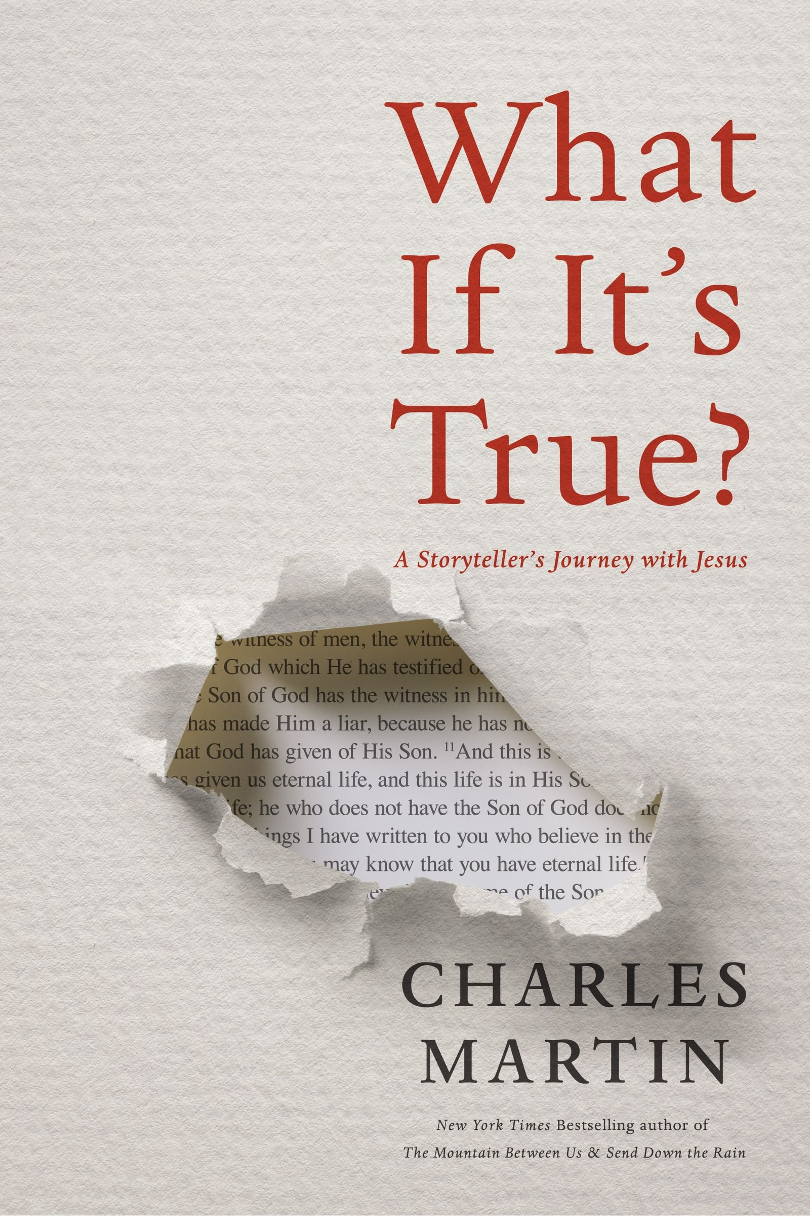 What If It's True?: A Storyteller's Journey with