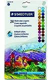 Staedtler Karat Aquarell Premium Watercolor Crayons (223M24)
