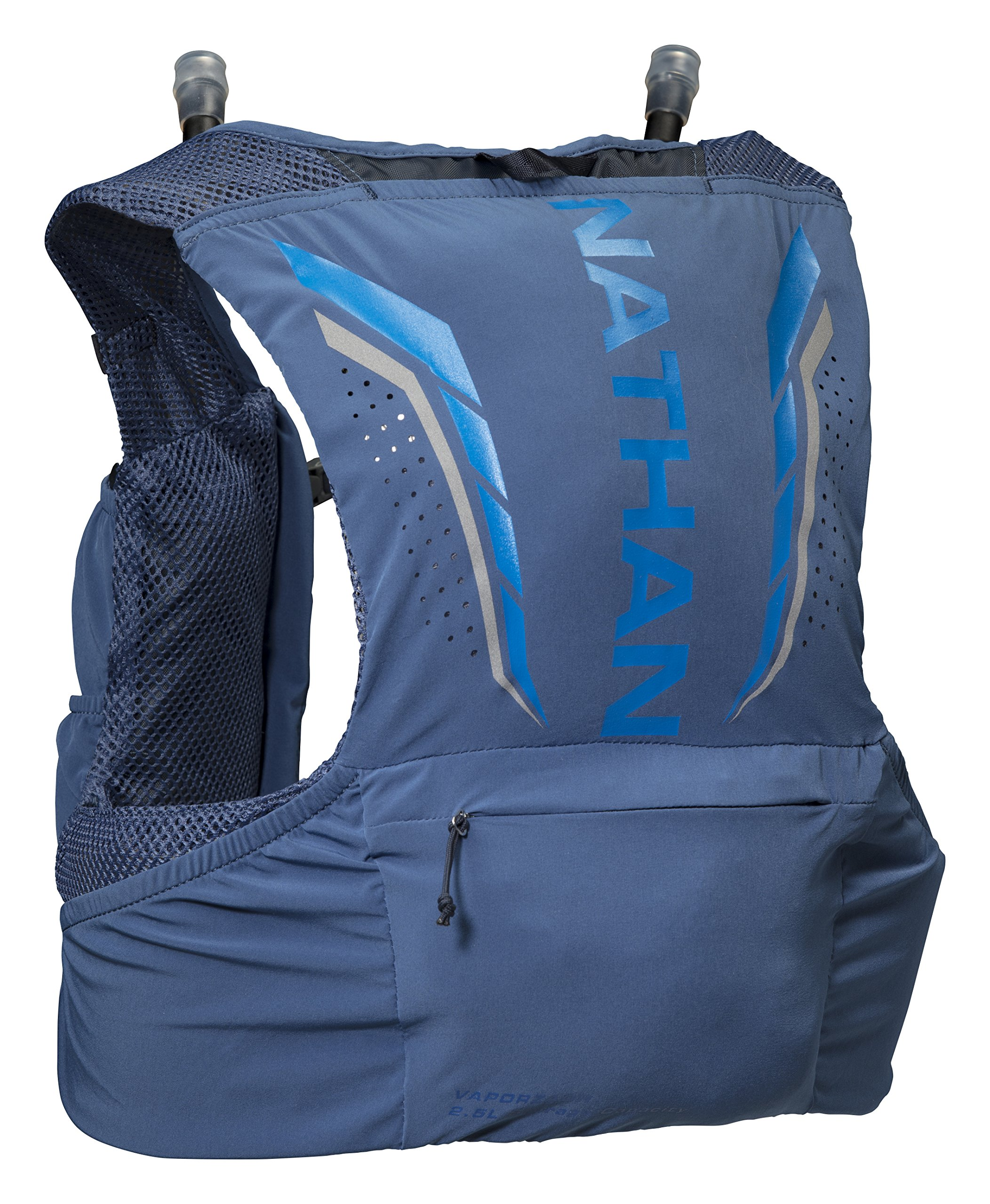 Nathan NS4544-0377-34 Male 2.5L Running Hydration Packs, True Navy/Blue Nights, Large by Nathan (Image #2)