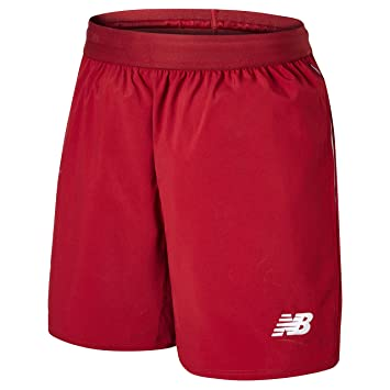watch e3ec1 d9456 New Balance Liverpool FC Home Kit 2018/2019 Red Polyeste Mens Football  Shorts LFC Official Store