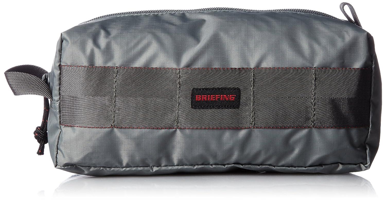 [ブリーフィング] ポーチ BOX POUCH M BRF433219 B01N4FMM6V グレー グレー