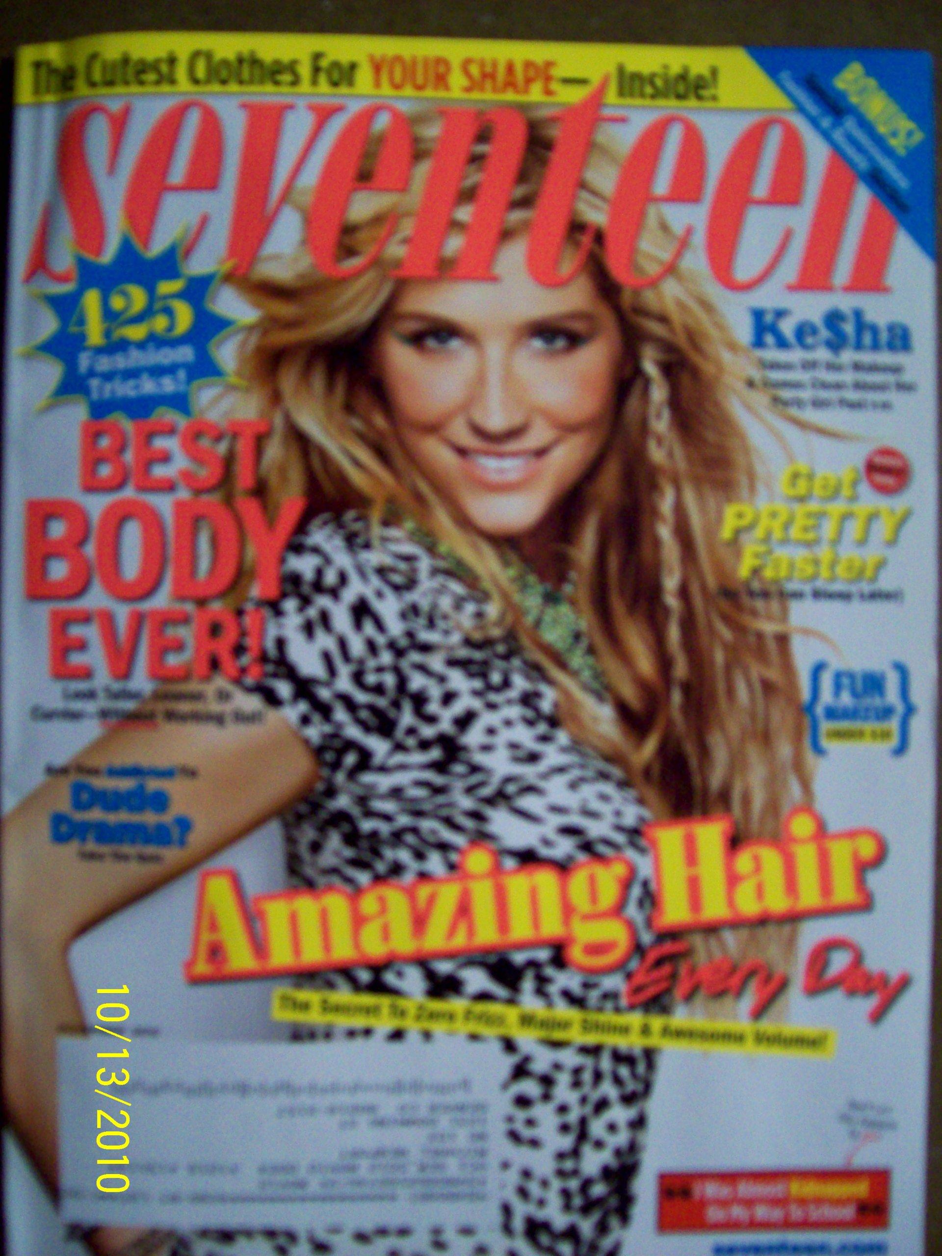 Seventeen November 2010 Ke$ha Best Body Ever pdf