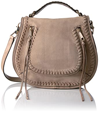 Shoulder Bag for Women On Sale, Light Brown, suede, 2017, one size Rebecca Minkoff