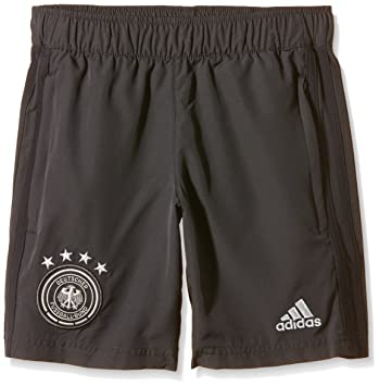 adidas Kinder Trainingshorts DFB Woven Youth Web Shorts der Deutschen Nationalmannschaft in Kindergrößen.
