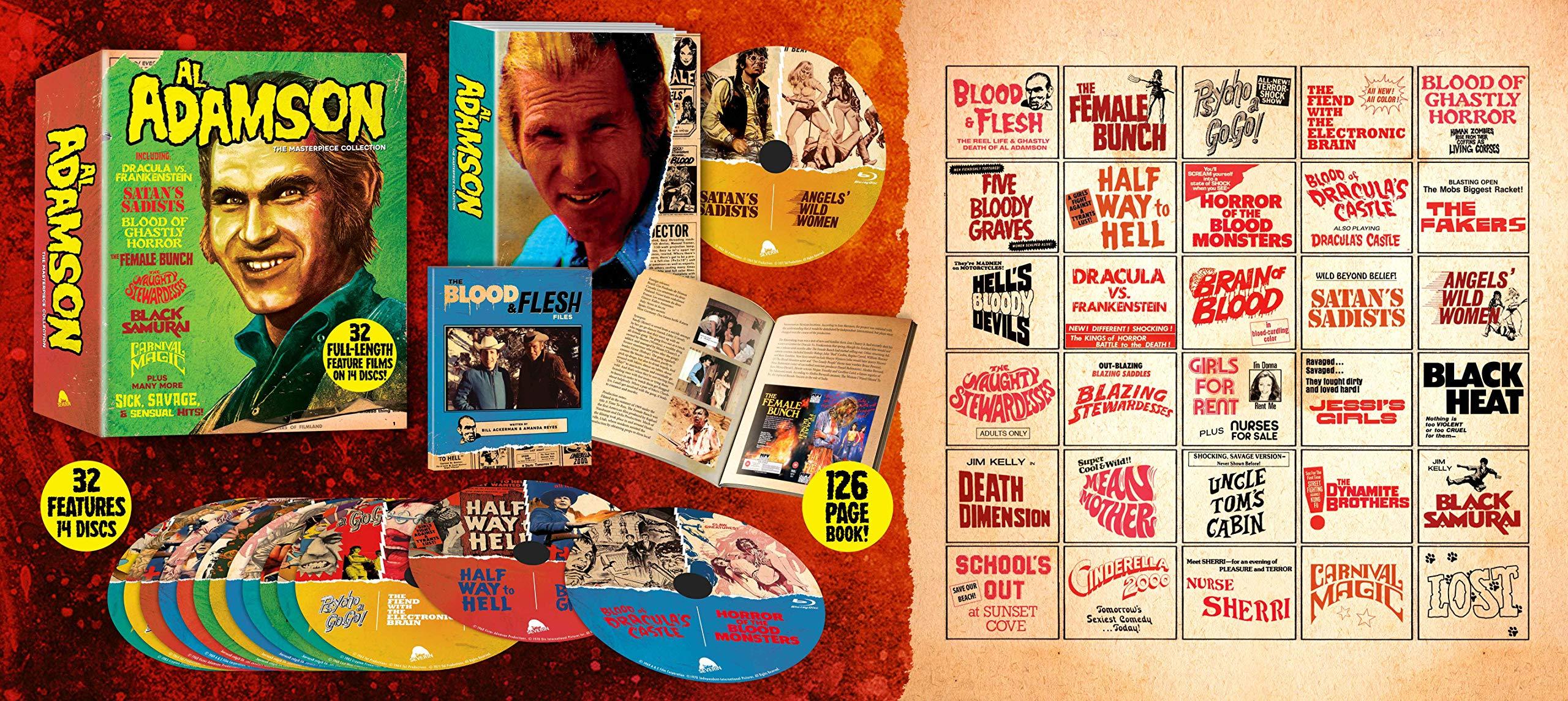 Al Adamson: The Masterpiece Collection [Blu-ray]