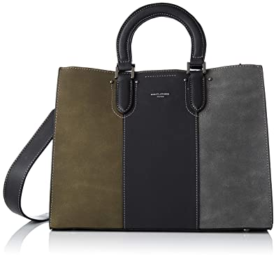 7e229f5089960 David Jones Women s CM3989 BLACK Top-Handle Bag Black Black (BLACK BLACK)   Amazon.co.uk  Shoes   Bags