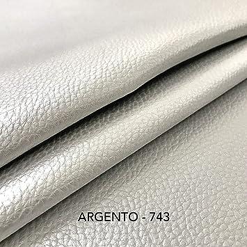 Panini - Tela de Piel sintética Suave para decoración de sofás, sillas, Bolsos