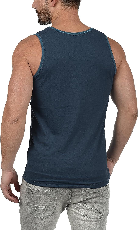 BLEND Walex Camiseta B/ásica De Tirantes Tanque Tank Top con Estampado con Cuello Redondo con Gr/áfico De 100/% algod/ón
