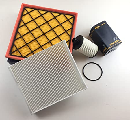 Ölfilter Luftfilter Pollenfilter Cruze J300 Schrägheck J305 Station Wagon J308 2 0 Cdi 120 Kw 163 Ps Auto