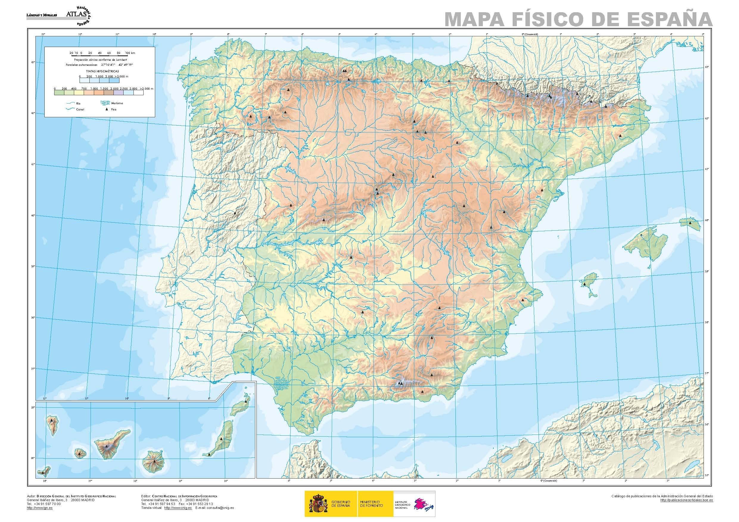 El mundo, Europa y España, físicos y políticos. A3. 12 mapas mudos ...