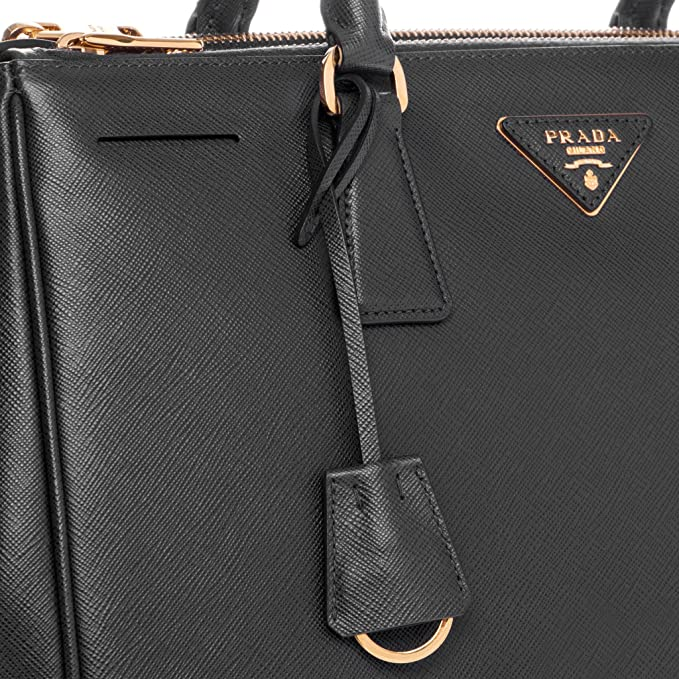 Amazon.com  Prada Women s Saffiano Lux Executive Tote Bag Black  Clothing 198850bccb482