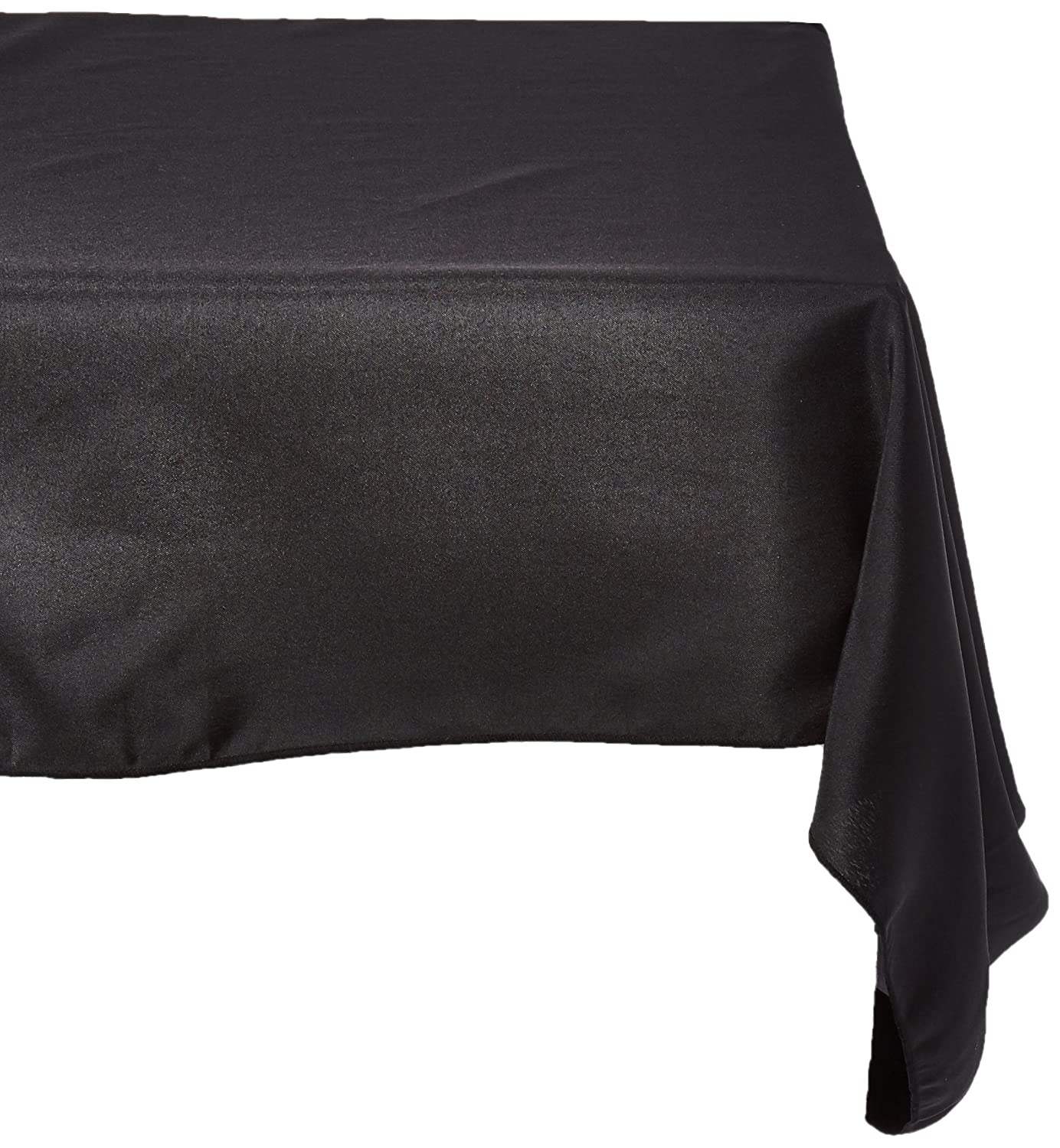 Design Black Tablecloth amazon com double knit polyester professional table cover 4 ft home kitchen