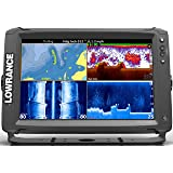 Lowrance Elite Ti Fish Finder/Depth Finder with C-MAP PRO Map Card & GPS Plotter