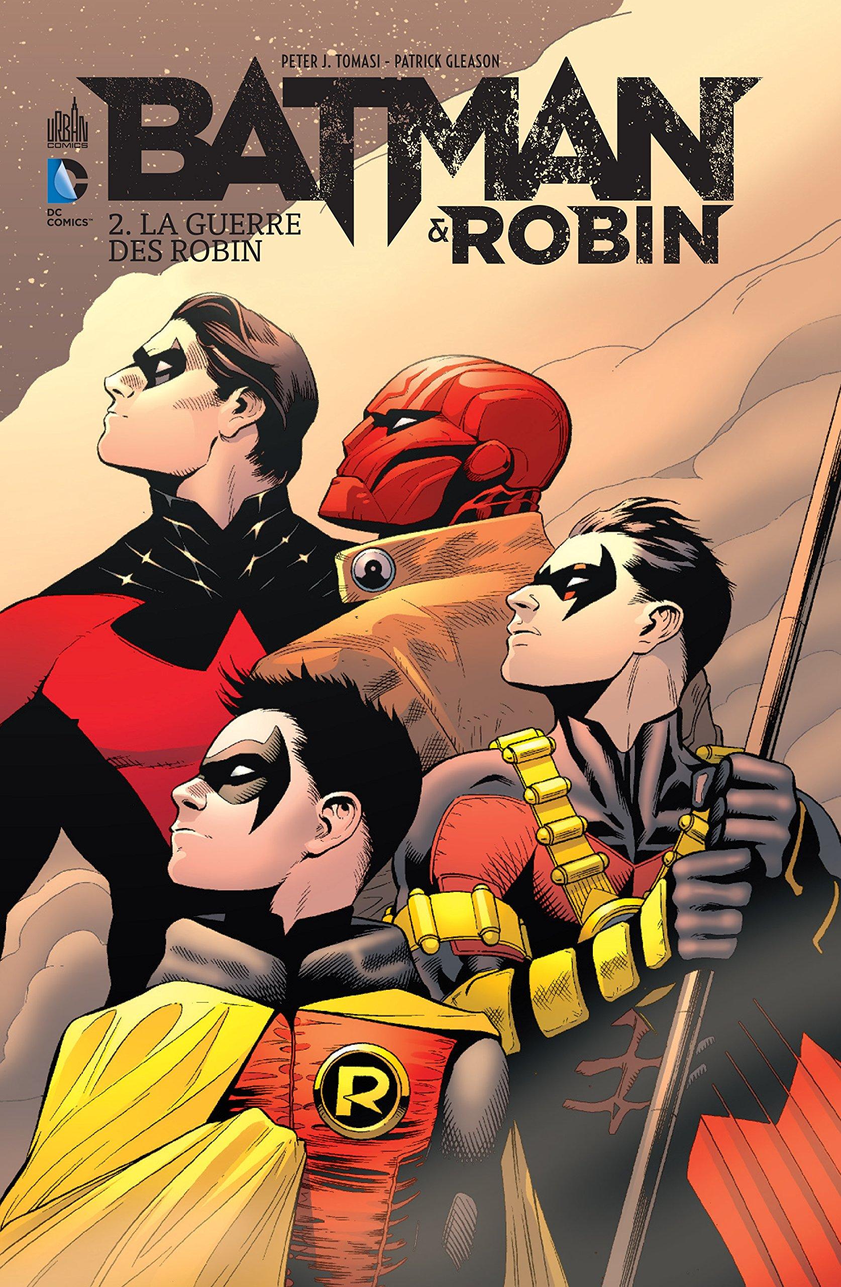 plusieurs robins batman