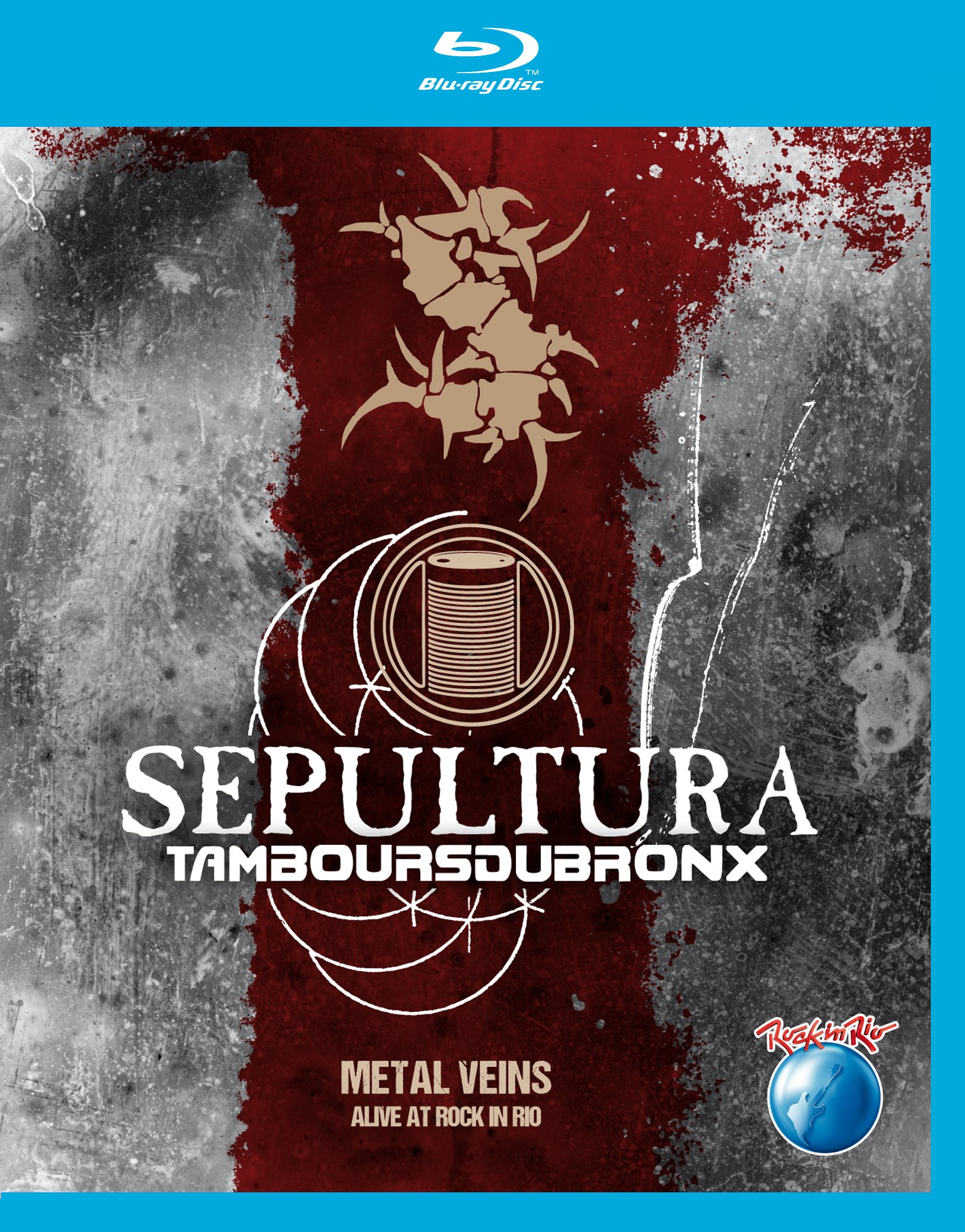Blu-ray : Sepultura & Les Tambours Du Bronx - Metal Veins: Alive at Rock in Rio (Blu-ray)