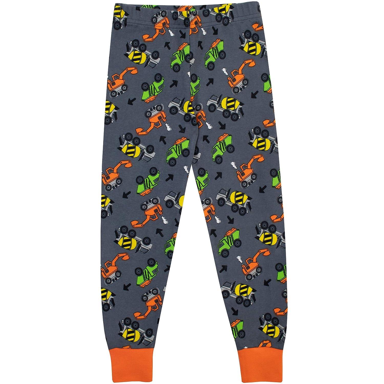 Harry Bear Pijamas de Manga Larga para niños Camiones Ajuste Ceñido: Amazon.es: Ropa y accesorios