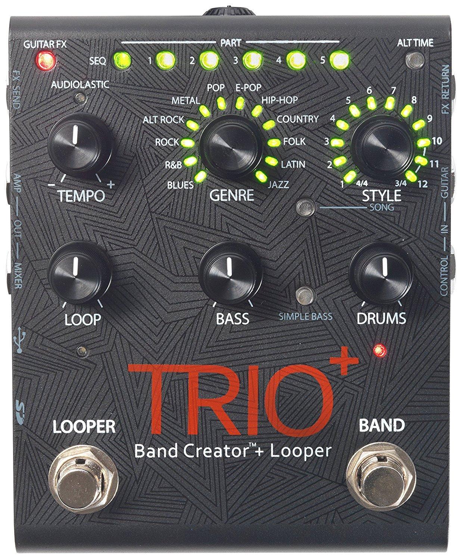 DigiTech Trio+ Band Creator Plus Looper Guitar Effects Pedal Level 2 Regular 190839109057