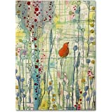 """Alpha by Sylvie Demers Wall Hanging, 35"""" x 47"""" Canvas Wall Art"""
