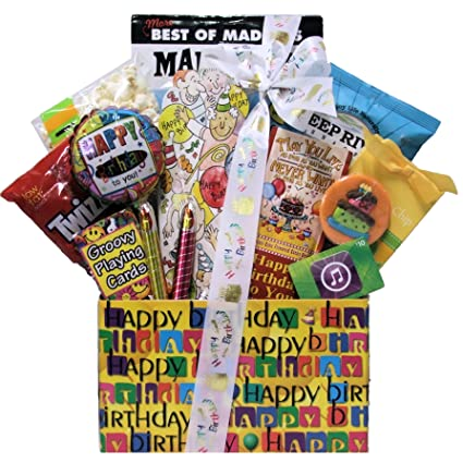 GreatArrivals Gift Baskets ITunes Birthday Kids Teen Basket Ages 13 And Up