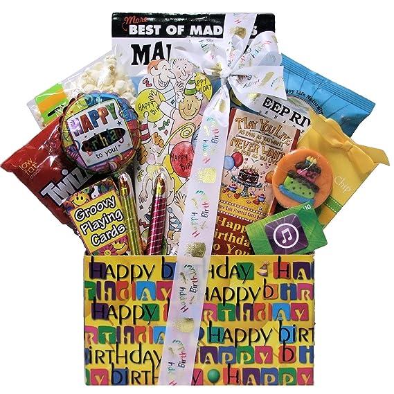Gran Arrivals Kid s Teen regalo de cumpleaños cesta edades ...