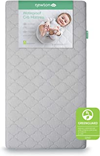 product image for Newton Baby Crib Mattress and Toddler Bed - Waterproof - 100% Breathable Proven to Reduce Suffocation Risk, 100% Washable, Hypoallergenic, Better Than Organic, 2-Stage Removable Cover Included- Grey