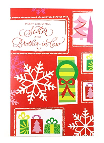 Amazon christmas card for sister husbandmerry christmas christmas card for sister husbandmerry christmas sister and brother in law m4hsunfo