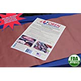 "Oren International FDA-Approved Pink Butcher Paper Sheets 18"" x 36"" - The Original Meat-Smoking Paper for Texas-Style BBQ (12 sheets in resealable envelope)"
