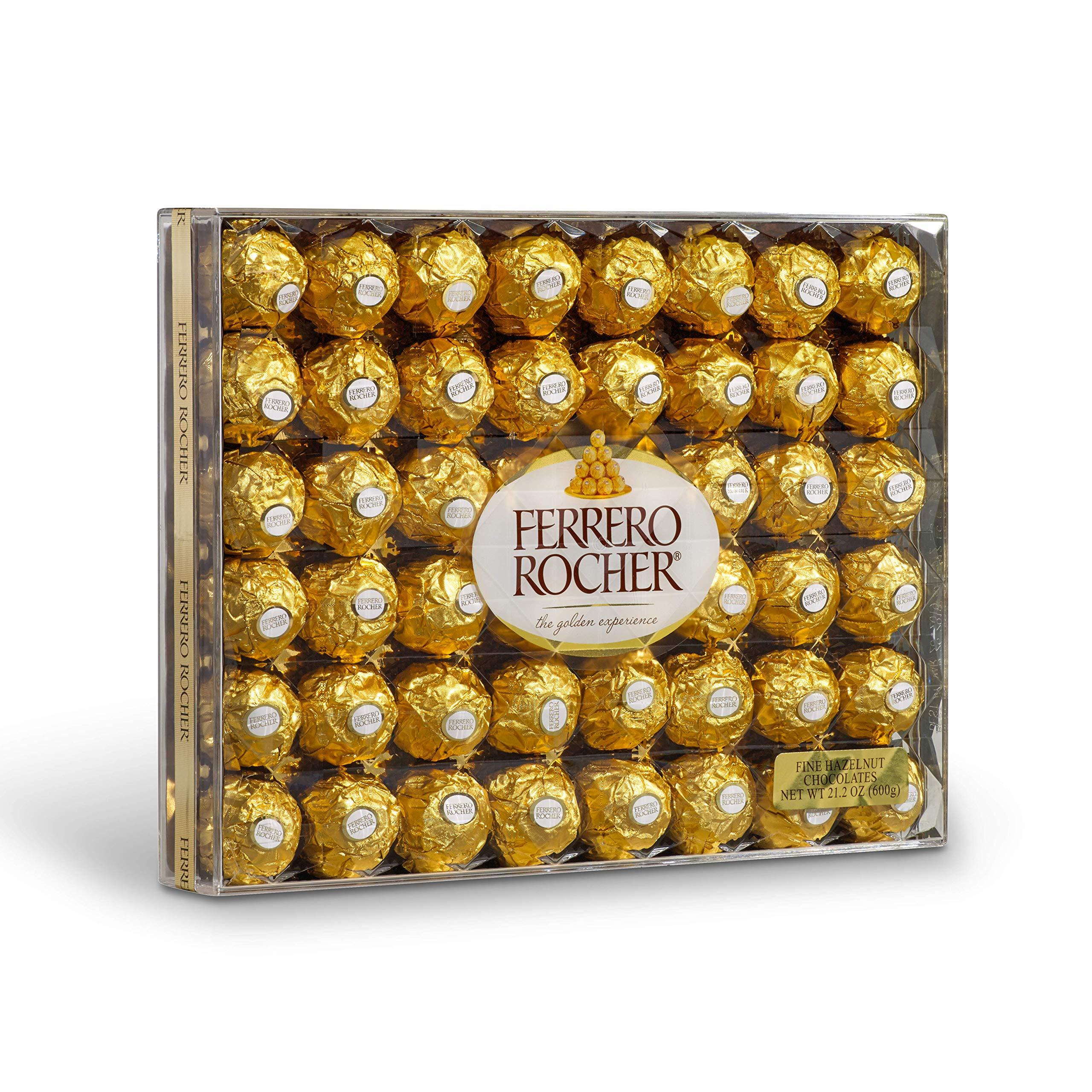 Ferrero Rocher Fine Hazelnut Chocolates, 21.1 Oz, 48 Count by Ferrero Rocher (Image #4)